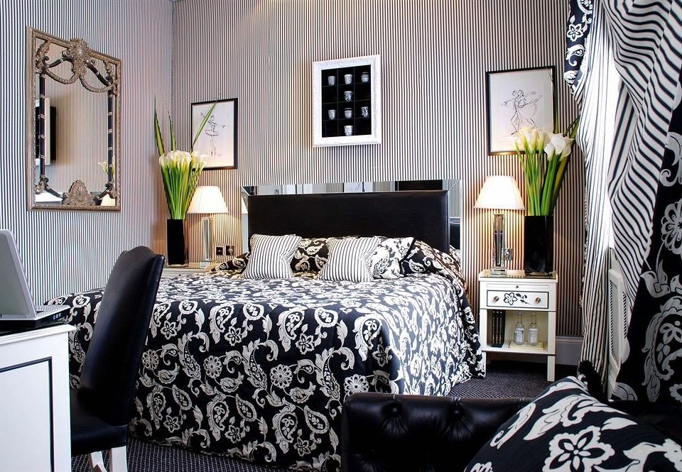 Bedroom living room black home bed sheet textile cottage duvet cover