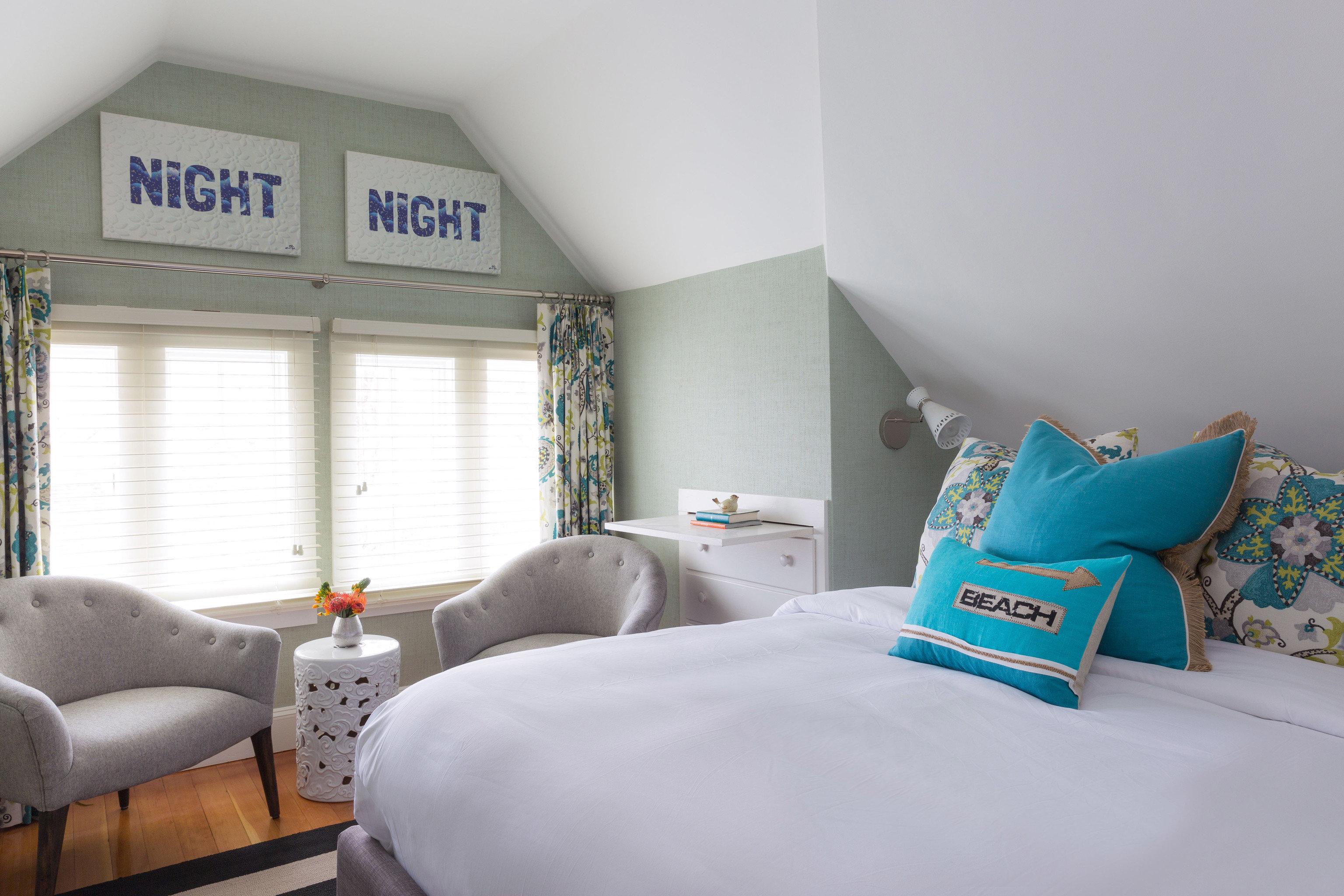blue property Bedroom living room home house cottage bed sheet