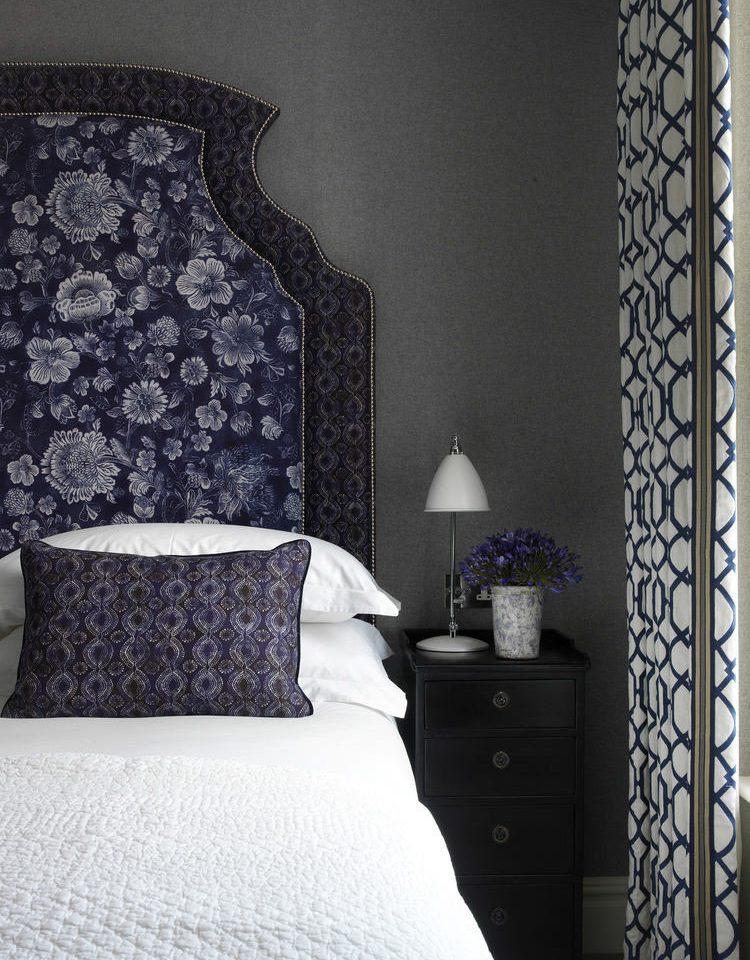 blue Bedroom pillow bed sheet textile flooring duvet cover wallpaper living room night