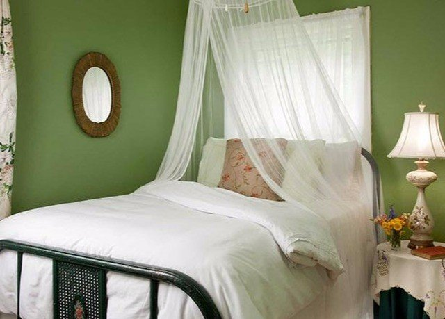 Bedroom green curtain bed sheet textile cottage duvet cover colored