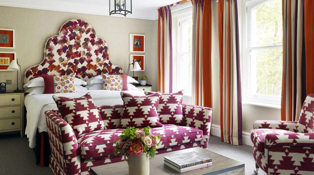 living room red home bed sheet Bedroom textile cottage