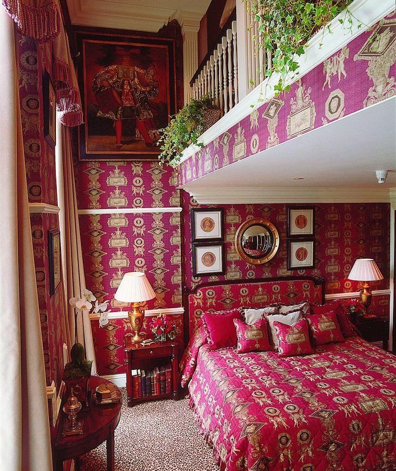 property red living room house home cottage bed sheet Bedroom