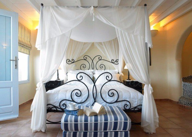 Bedroom white curtain bed sheet textile living room