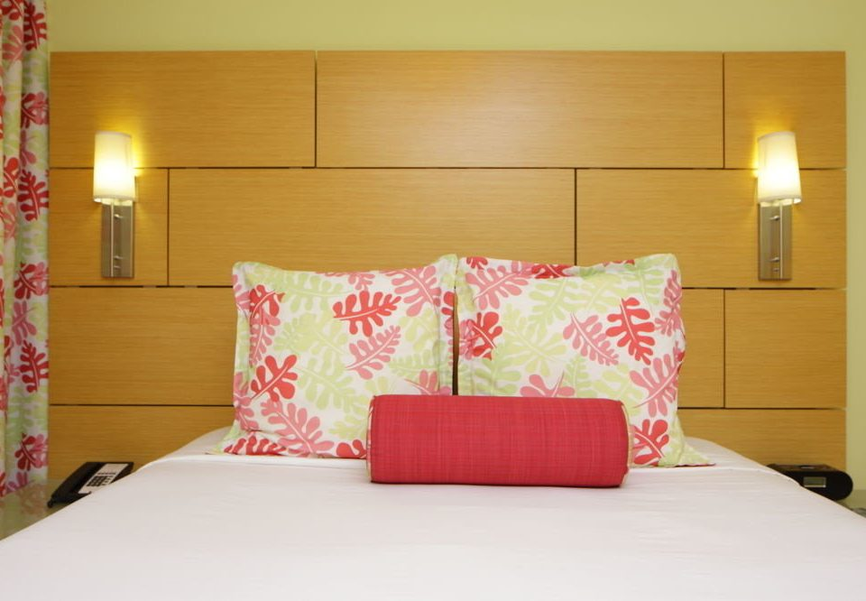 Bedroom pink bed sheet pillow living room textile lamp
