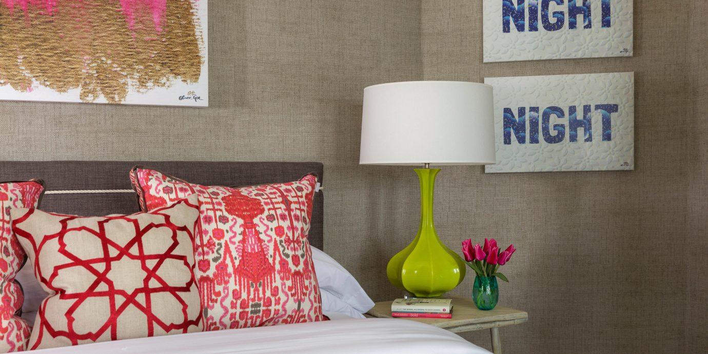 bed sheet living room Bedroom textile modern art