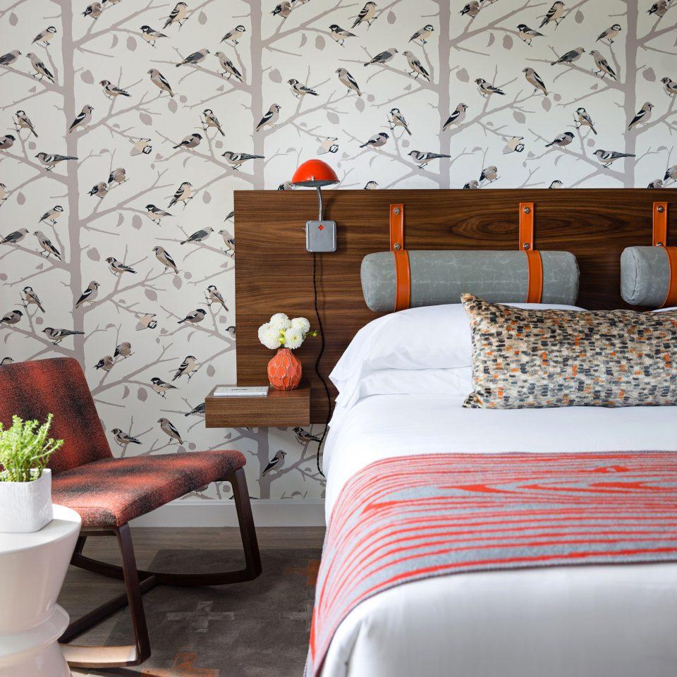 Bedroom living room bed sheet wallpaper