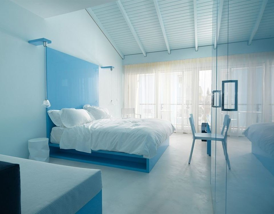 building daylighting Bedroom professional blue