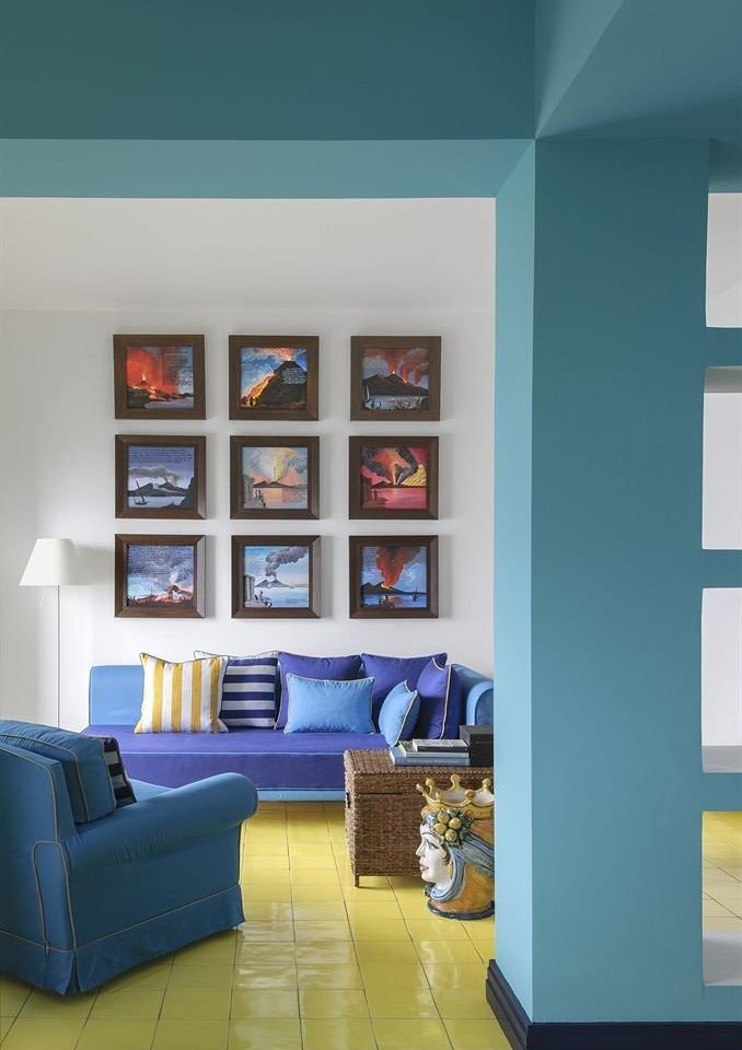color blue living room home Bedroom painted colored