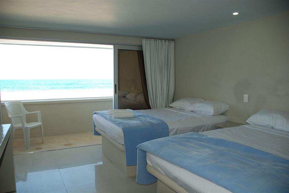 Bedroom property blue cottage condominium