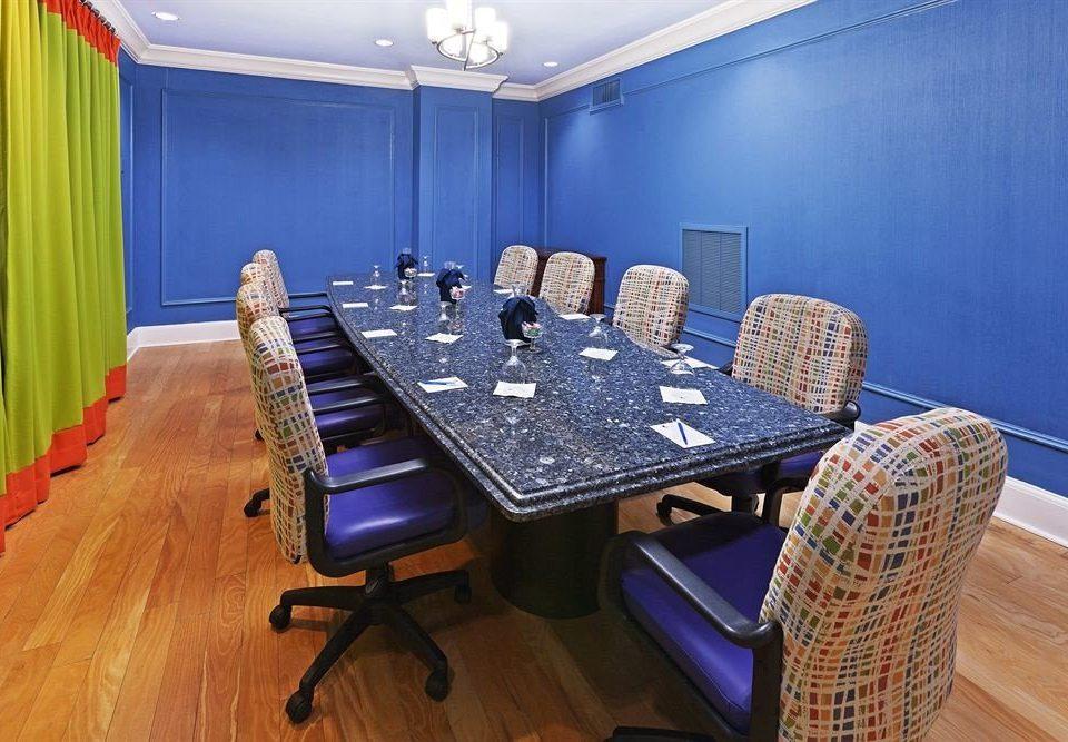 blue conference hall recreation room meeting rug Bedroom hard