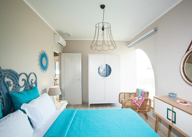 property Bedroom cottage home blue