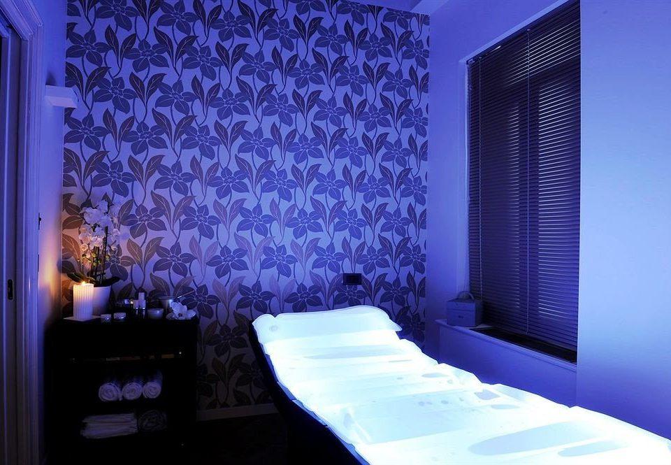 blue light lighting Bedroom