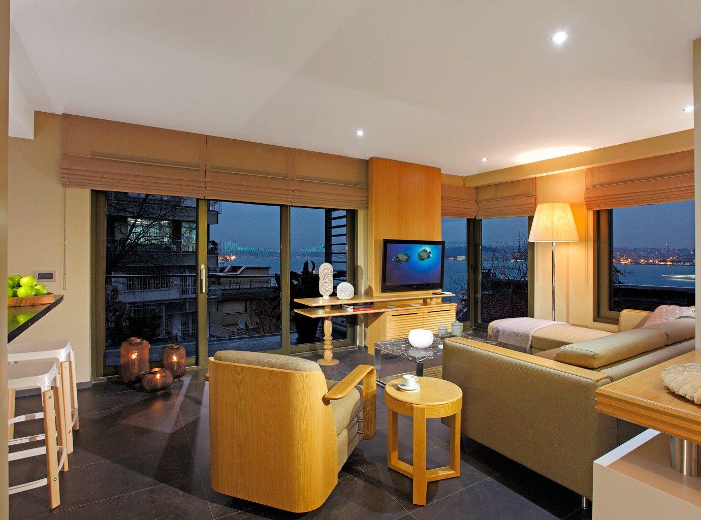Bedroom Boutique Budget Modern property Suite condominium home living room Villa cottage Island