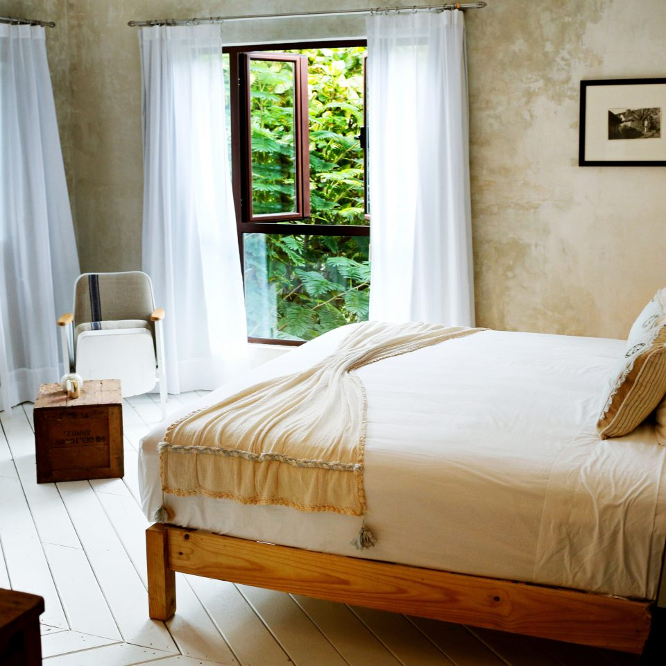 Bedroom Boutique Budget Rustic Tropical property home cottage hardwood Suite living room farmhouse bed frame bed sheet Villa