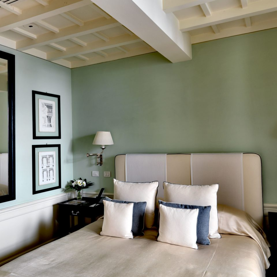 Bedroom Boutique City Elegant Florence Hotels Italy Romance Romantic living room property home green lighting condominium loft