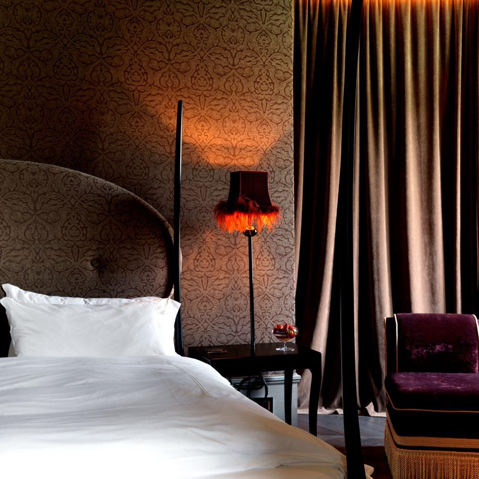 Bedroom Boutique City Hip Honeymoon Modern Romance Romantic curtain Suite lighting night pillow textile