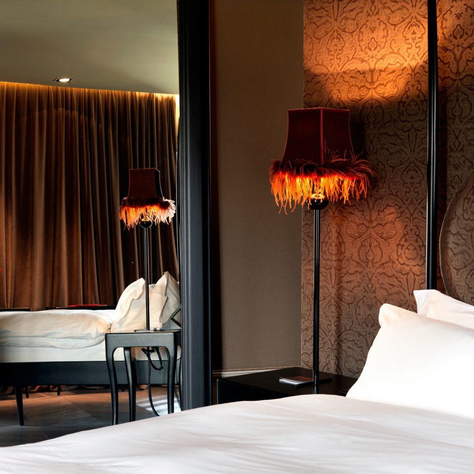Bedroom Boutique City Hip Honeymoon Modern Romance Romantic lighting Suite hearth light night