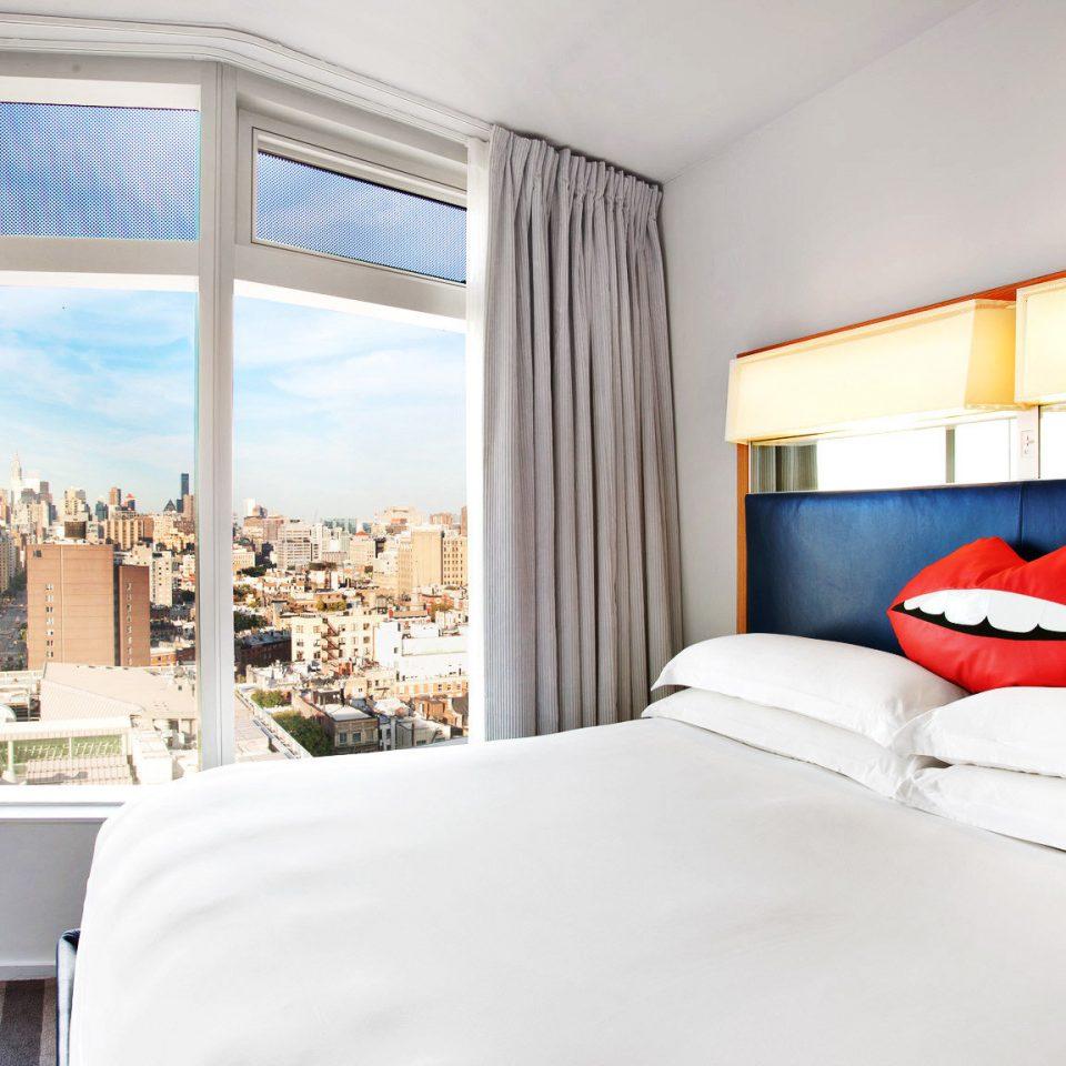 Bedroom Boutique City Hip property home Suite bed sheet condominium