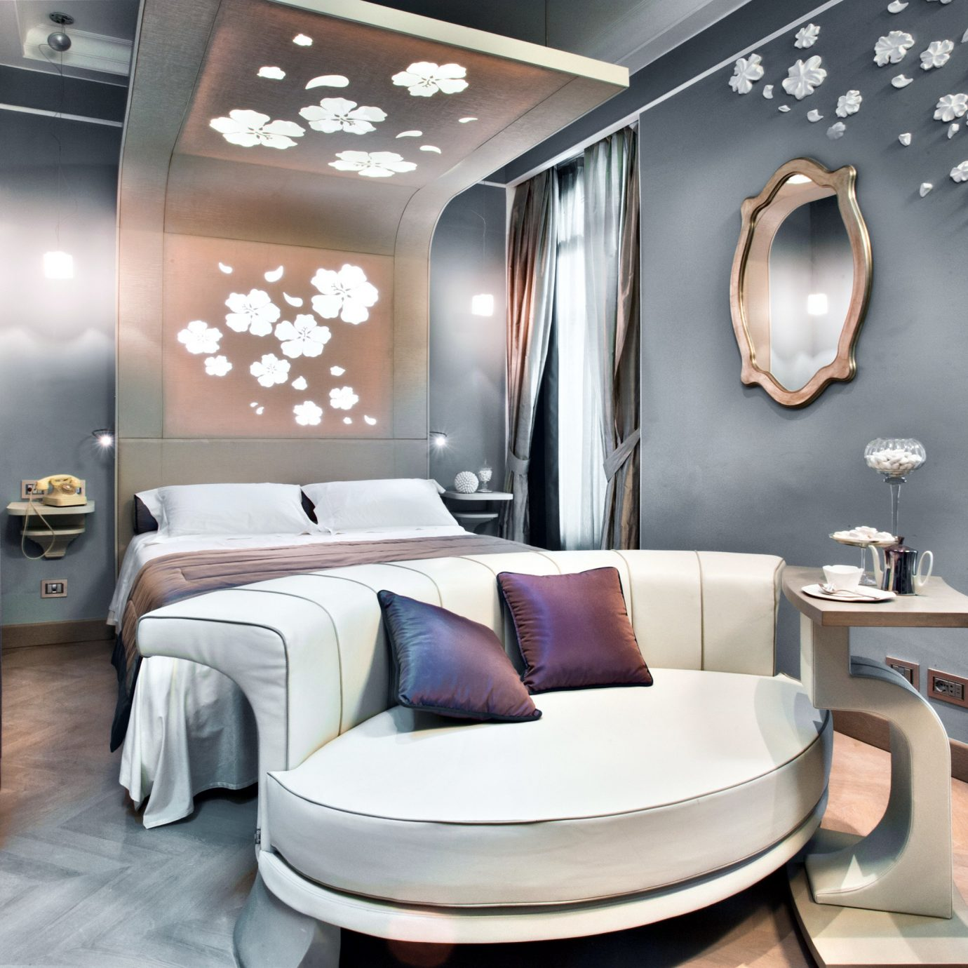 Bedroom Boutique City Hip living room home Suite