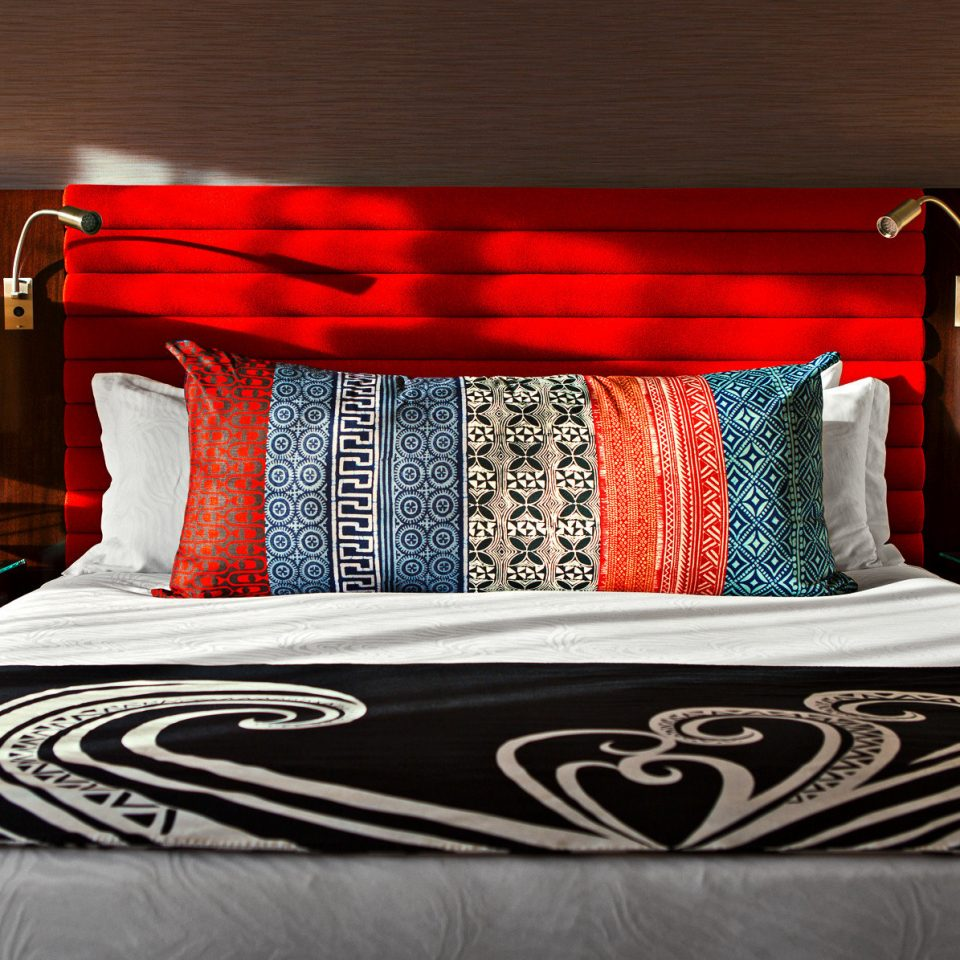 Bedroom Boutique City Hip bed sheet pillow duvet cover textile bed frame material lamp orange bedclothes