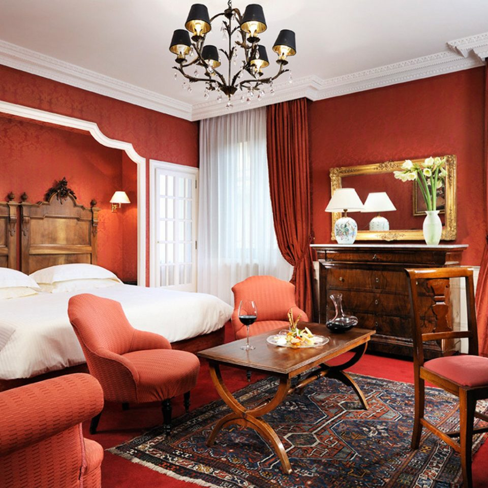 Bedroom Boutique City Historic Luxury Romantic Suite property living room red home cottage