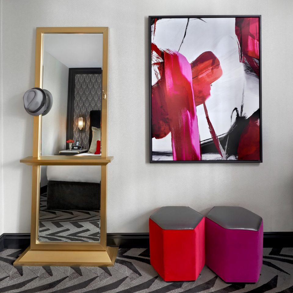 Bedroom Boutique City modern art picture frame living room shelf illustration