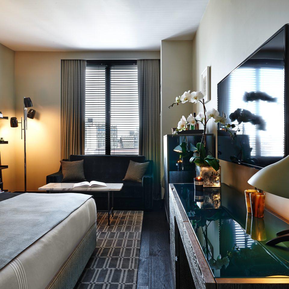 Bedroom Boutique City Modern property living room Suite condominium home