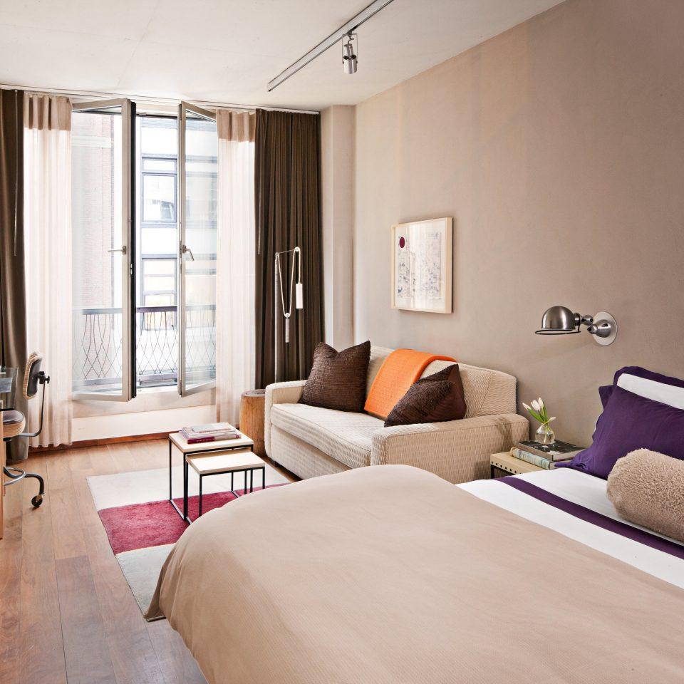 Bedroom Boutique City Modern property living room home Suite cottage condominium