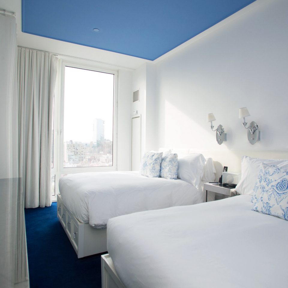 Bedroom Boutique City Modern property blue house cottage home Suite