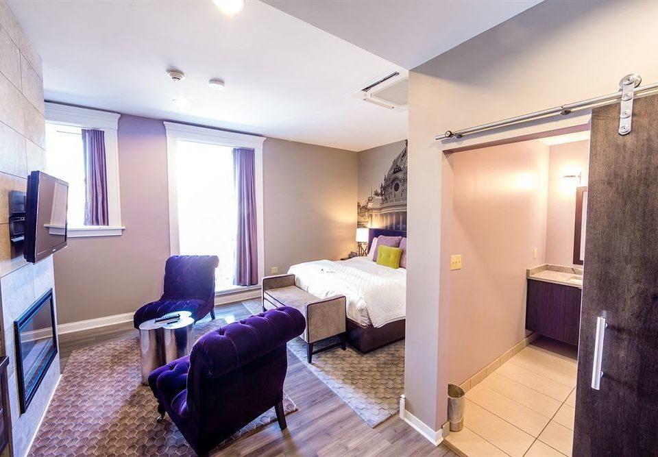 Bedroom Boutique City property Suite cottage