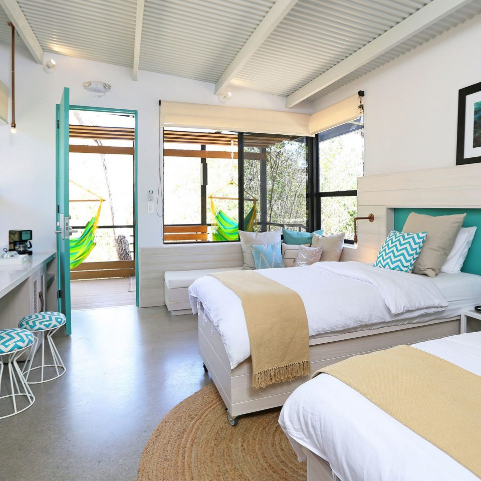 Bedroom Boutique Eco Hip Modern Resort property condominium home cottage living room Villa Suite