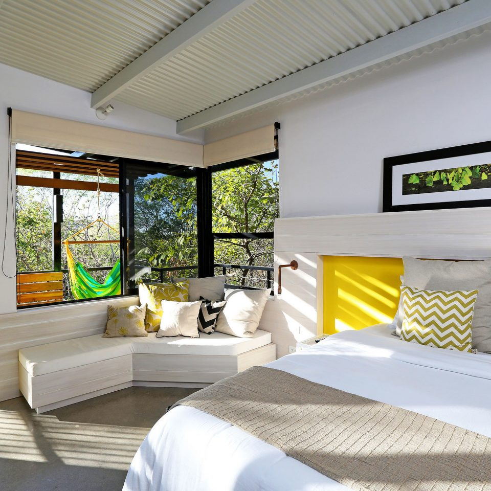 Bedroom Boutique Eco Hip Modern Resort property condominium home living room Villa white cottage Suite