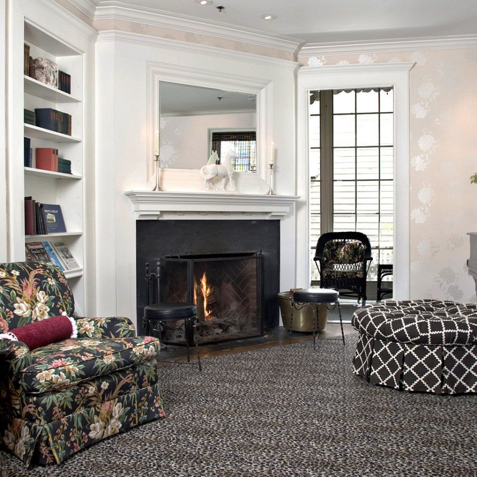 Boutique Fireplace Lounge Modern sofa fire living room property home cottage hardwood Bedroom leather