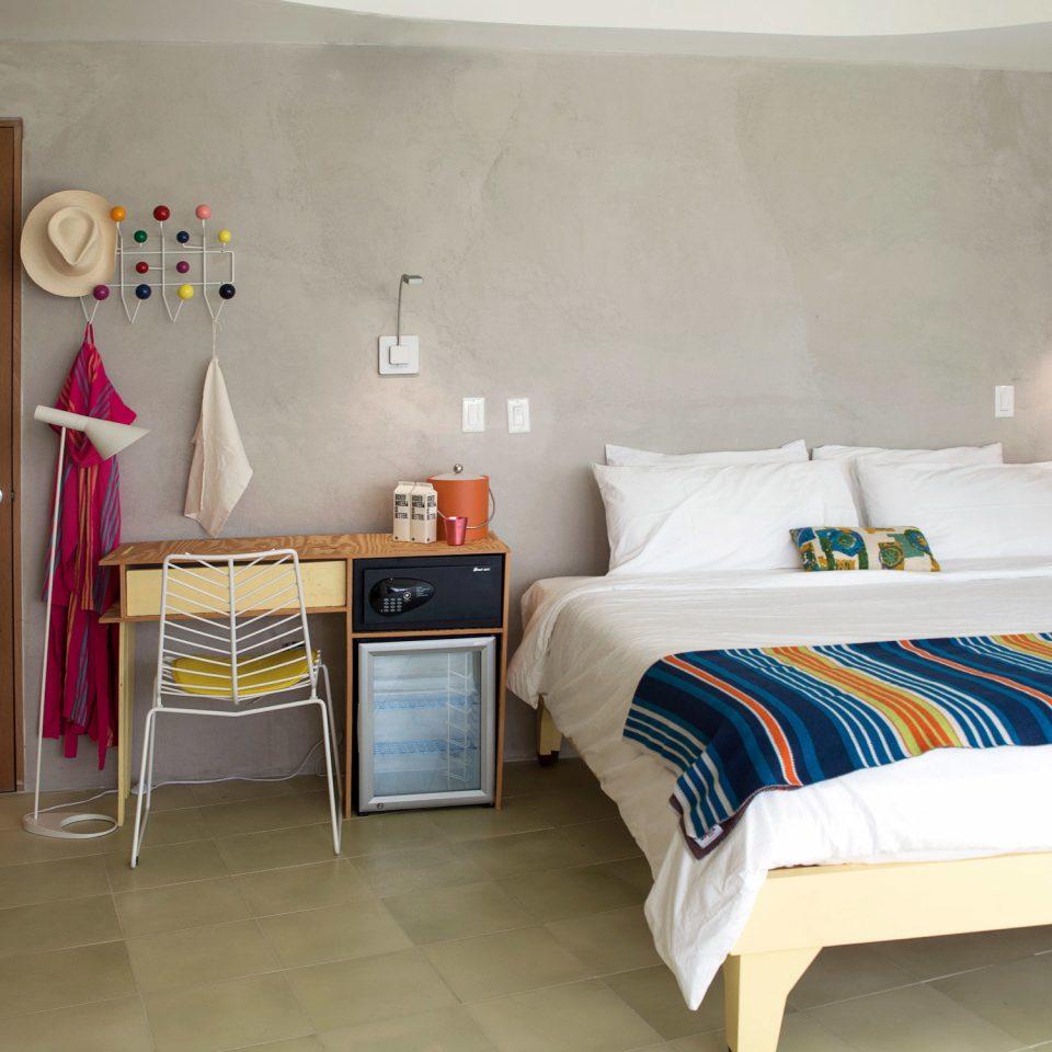 Bedroom Boutique Hip Hotels Modern property home cottage bed sheet living room Suite tiled