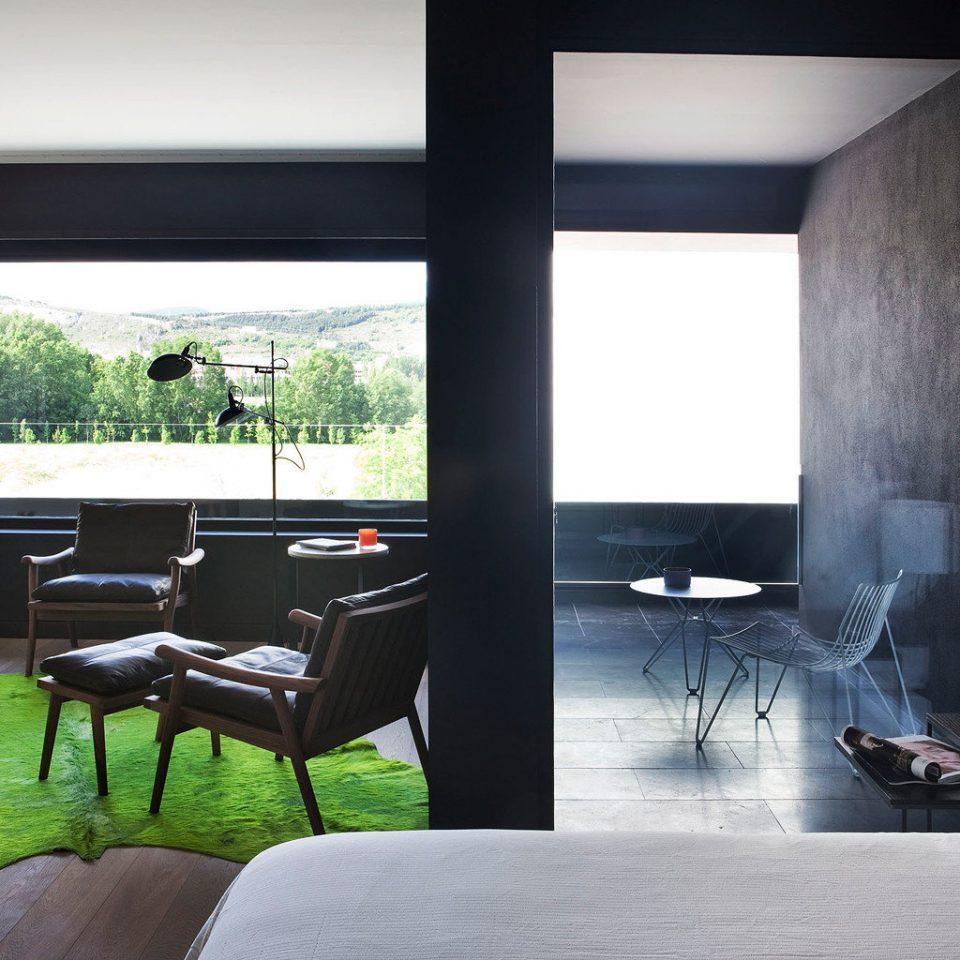 Bedroom Boutique Hip property living room home house condominium lighting Suite loft