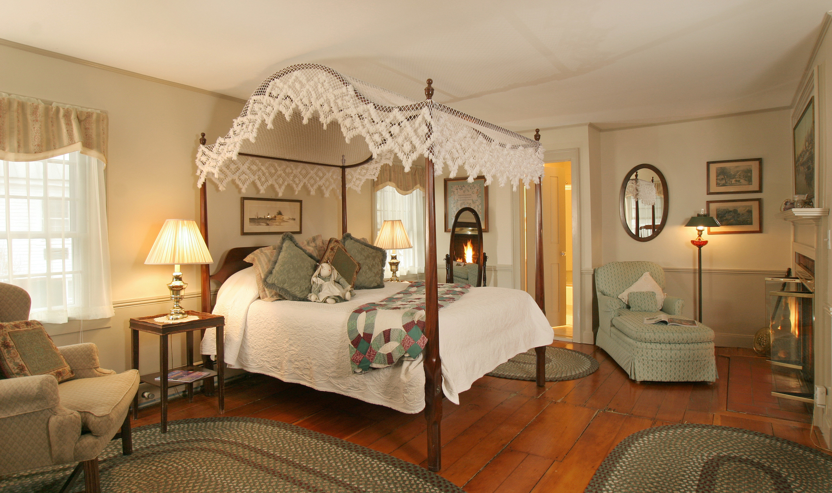 Bedroom Boutique Hotels Classic Country Hotels Inn Romantic Getaways Romantic Hotels Suite property chair living room cottage home Villa nice