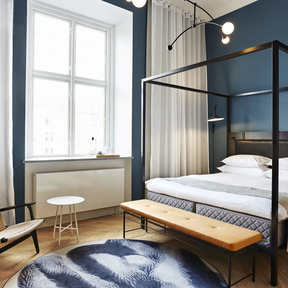 Boutique Hotels Copenhagen Denmark Hotels bed frame Bedroom mattress interior designer daylighting