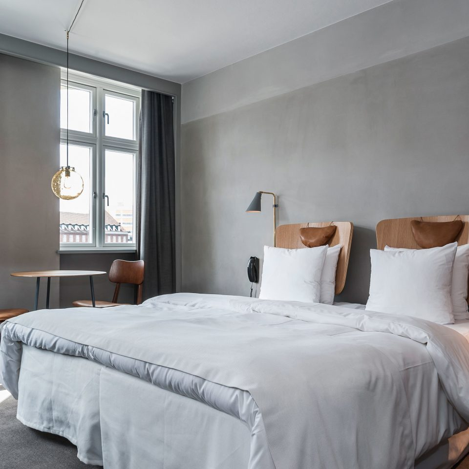 Boutique Hotels Copenhagen Denmark Hotels Bedroom property Suite scene cottage tan