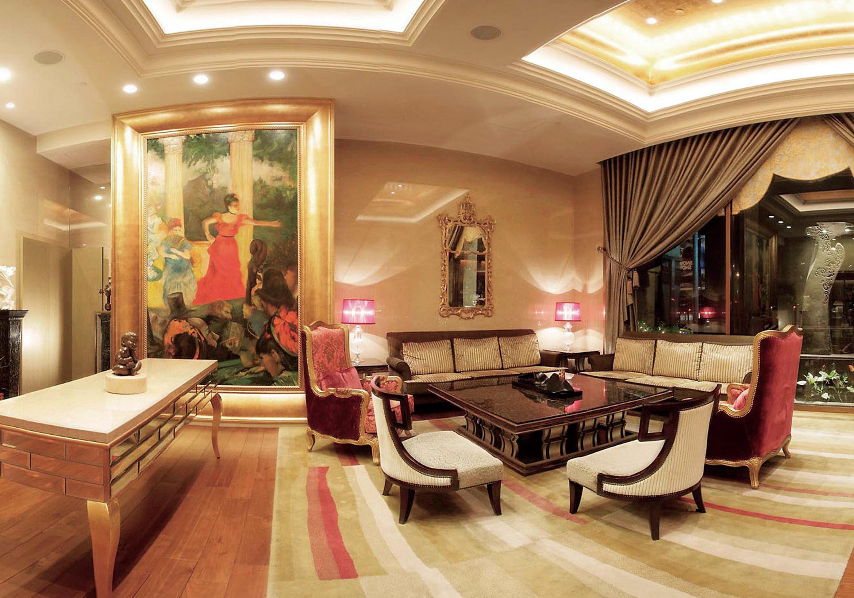 Lobby recreation room living room home mansion restaurant Boutique Bedroom