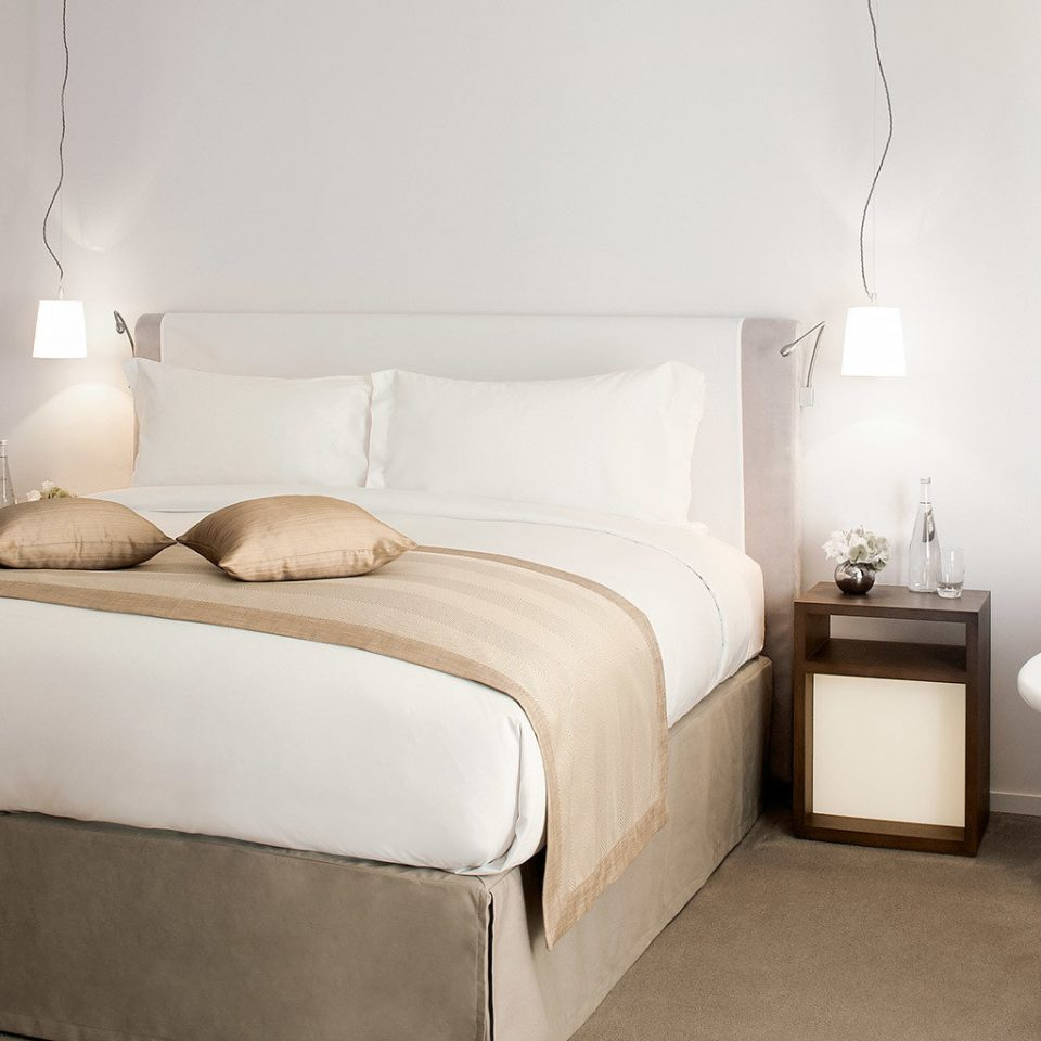 Bedroom Boutique Luxury Modern property Suite home cottage tan