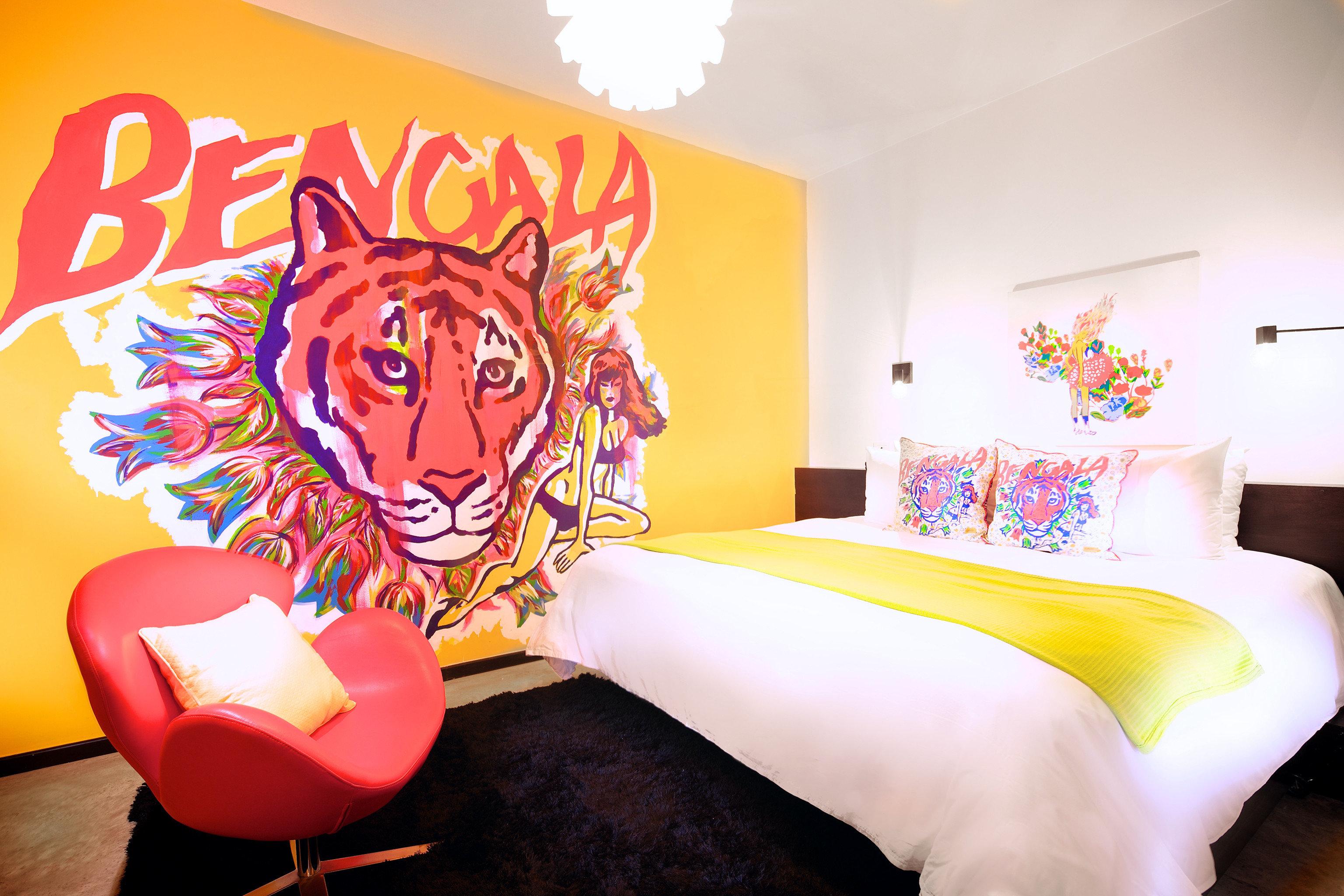 Bedroom Boutique Modern illustration