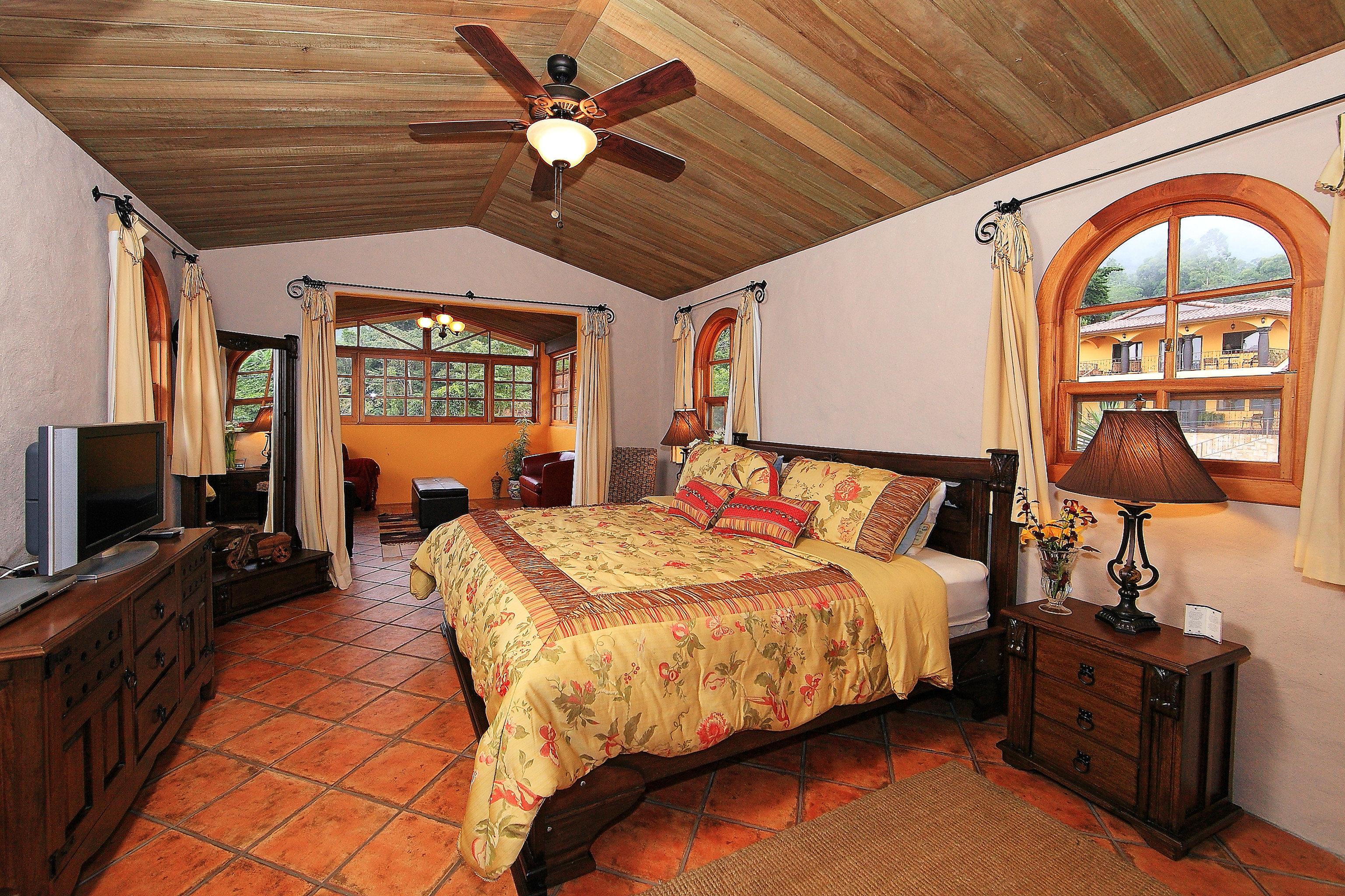 Bedroom Boutique Modern property cottage home farmhouse hardwood Villa living room Suite recreation room