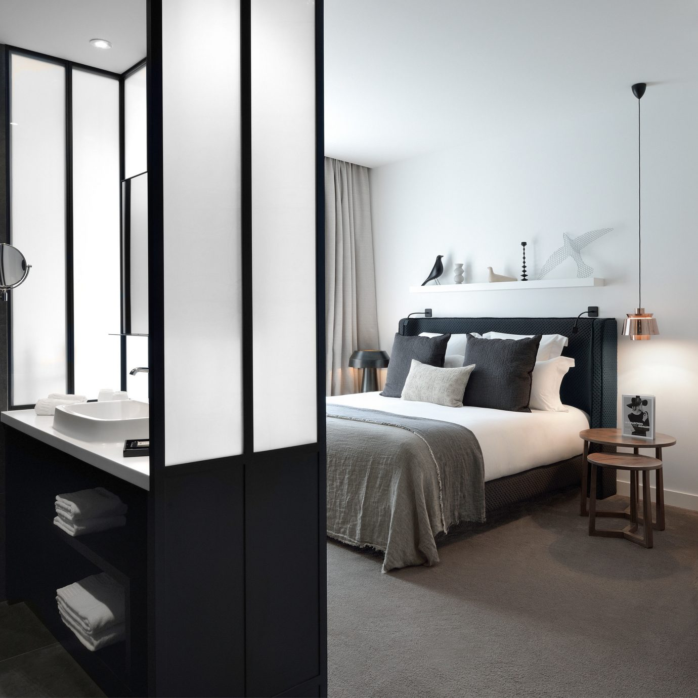 Bedroom Boutique Modern property home bathroom loft Suite