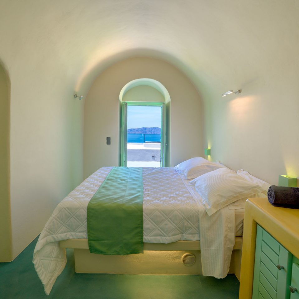 Bedroom Boutique Suite green property yellow building cottage colored