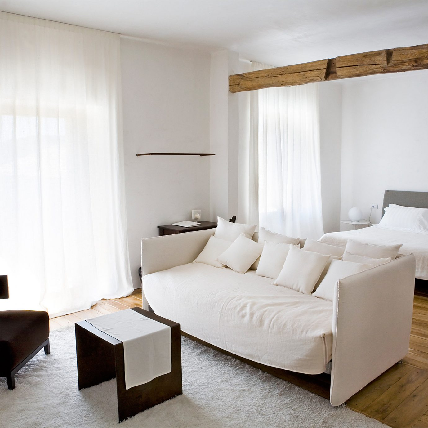 Bedroom Boutique Suite property living room cottage
