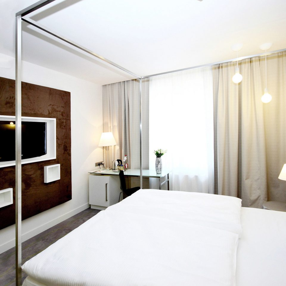 Bedroom Budget City Modern property scene Suite white condominium