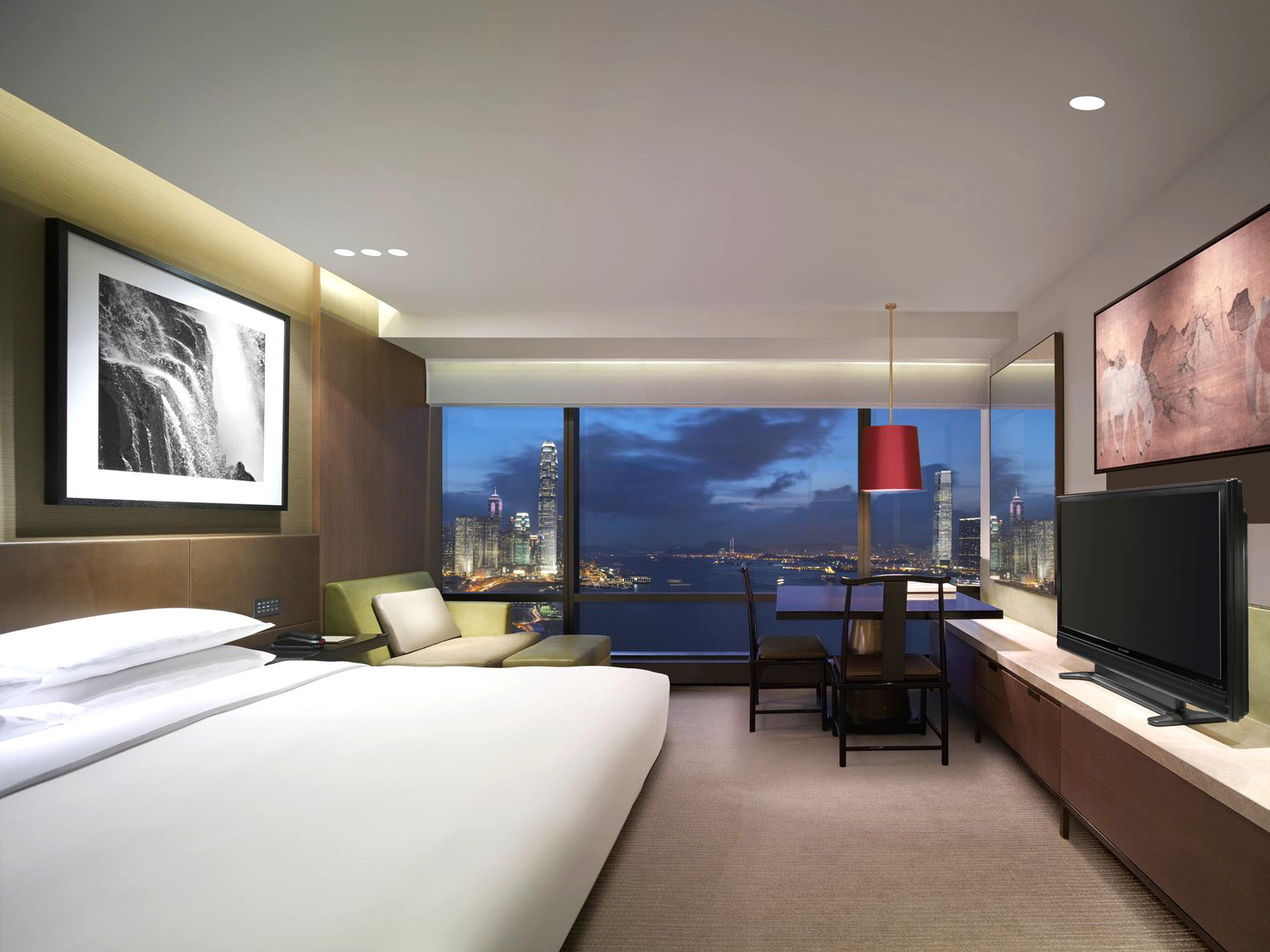Bedroom Business City Family Luxury Scenic views Suite Waterfront property living room condominium home Villa flat