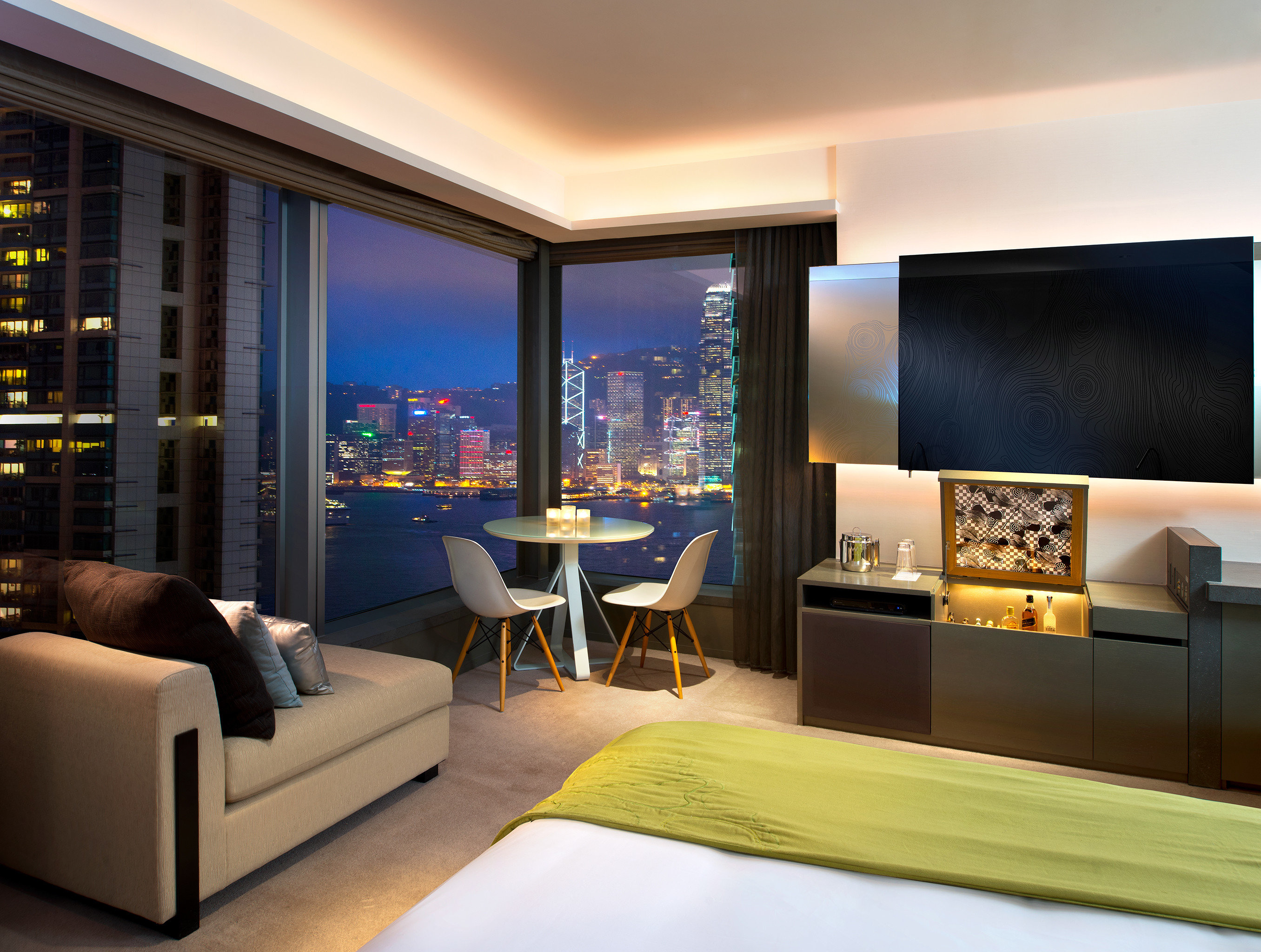 Bedroom Business City Scenic views property living room Suite condominium home Lobby Modern