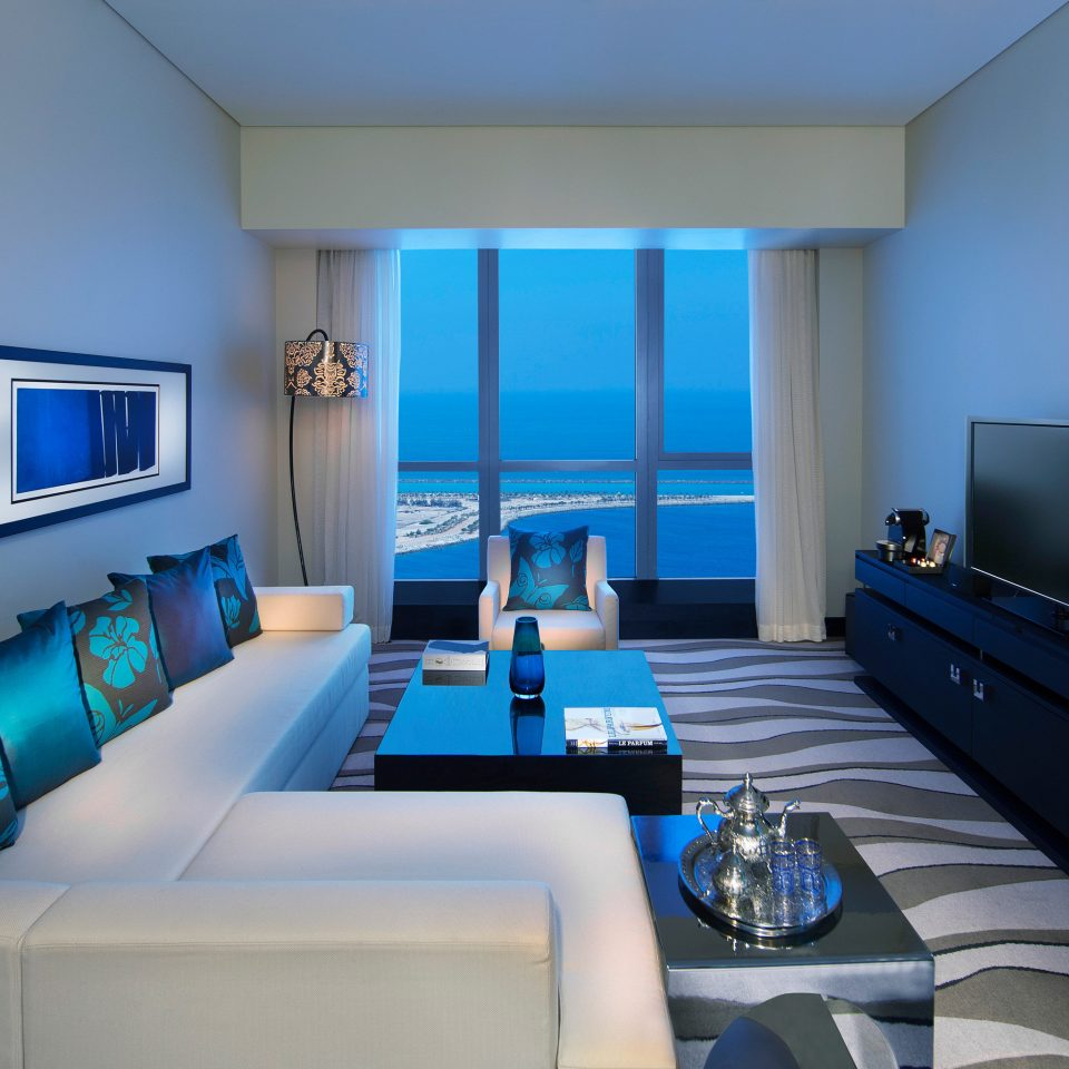 Business City Modern Spa sofa blue property living room condominium Suite home Bedroom
