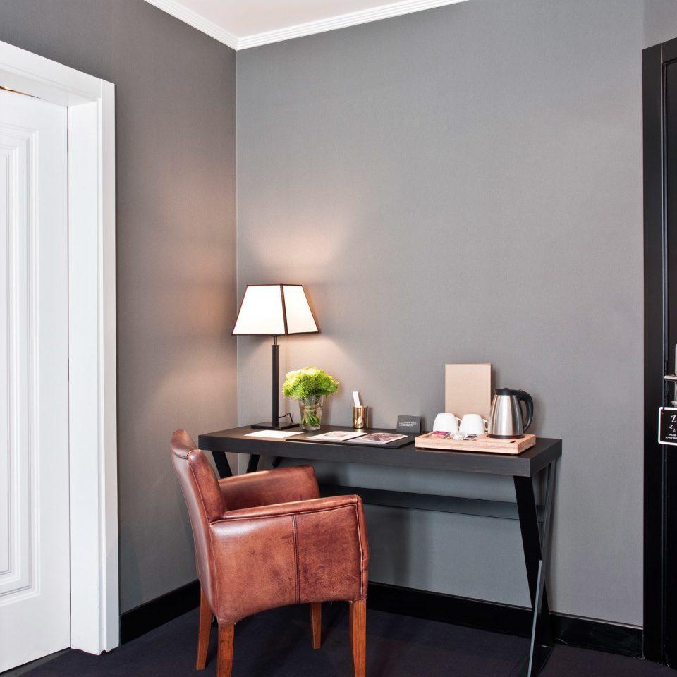 hardwood home lighting living room cabinetry Bedroom